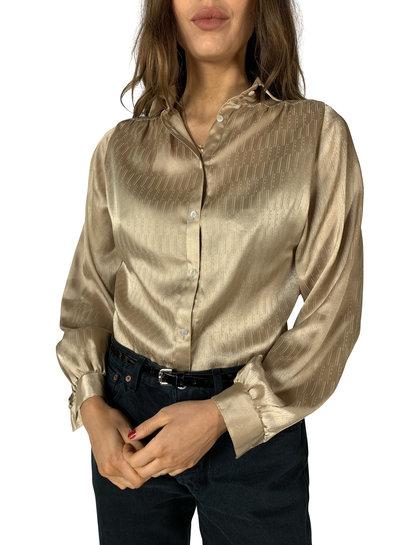 Chemises Vintage: Chemises Metallic