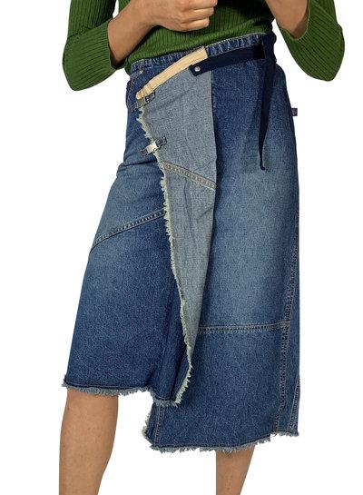 Vintage Skirts: 90's Jeans Skirts