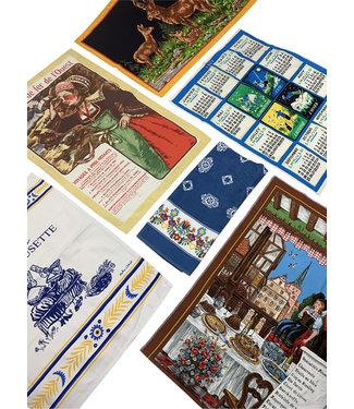 Vintage Accessories: Vintage Calendars & Cloths