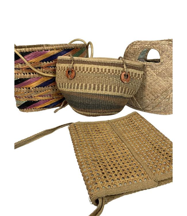 Vintage Bags: Straw Beach Bags