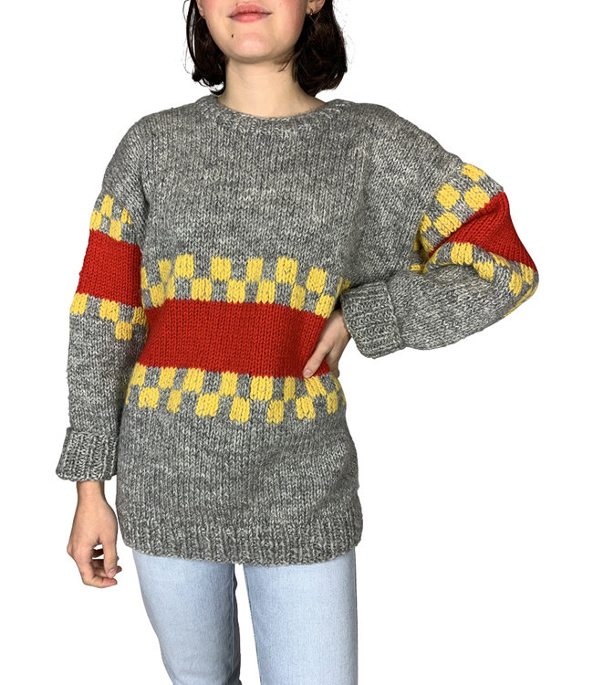 Vintage Knitwear: Printed Jumpers