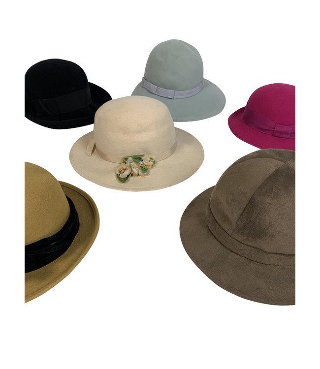 Vintage Hats: Fedora / Felt Hats Ladies