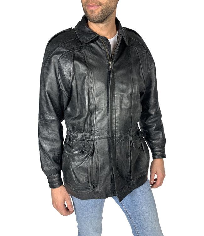 Vestes Vintage: Vestes en Cuir Hommes 90's / 00's