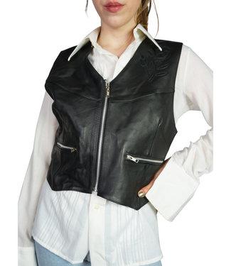Vintage Jackets: Leather Vests