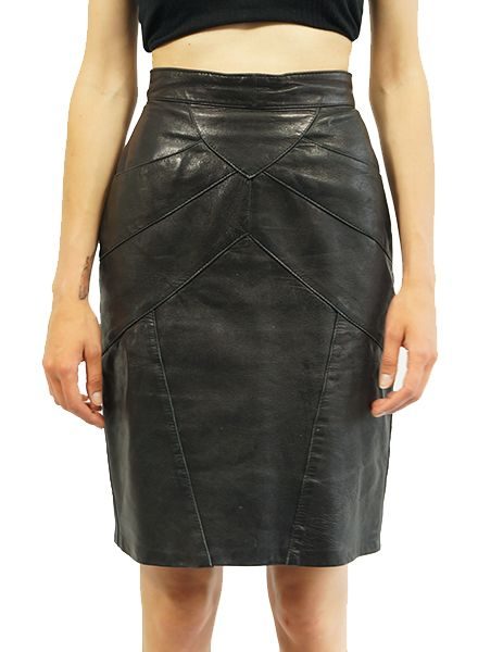 979ecede94 Vintage Skirts: Leather Skirts - ReRags Vintage Clothing Wholesale