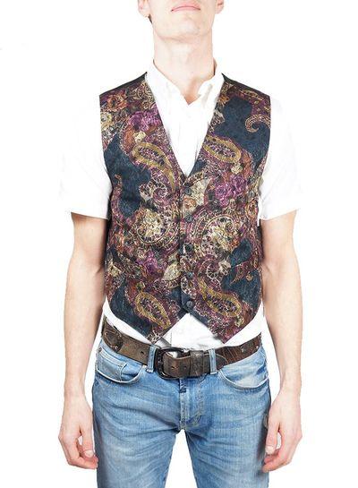 Chemises Vintage: Gilets Hommes