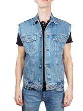 Vestes Vintage: Gilets en Jean