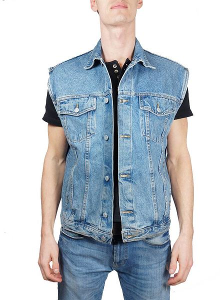 Vintage Jackets: Denim Vests