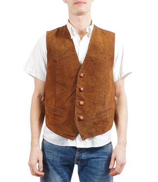 Vintage Jackets: Leather Vests Men