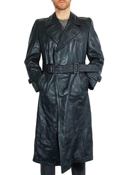 Manteaux Vintage: Manteaux en Cuir 40's