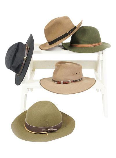 Chapeaux Vintage: Chapeaux Fedora Hommes