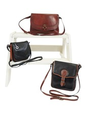 Vintage Bags: 70's / 80's Leather Bags