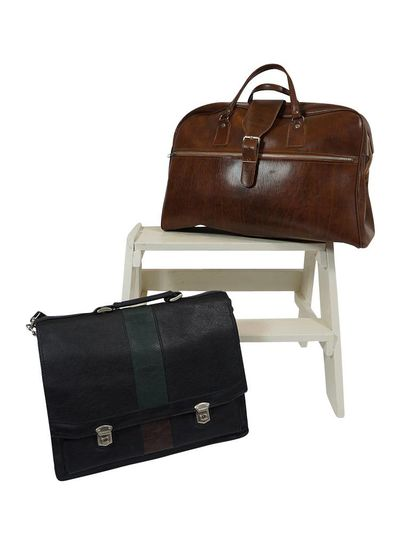 Vintage Bags: Travel & Office Bag Mix