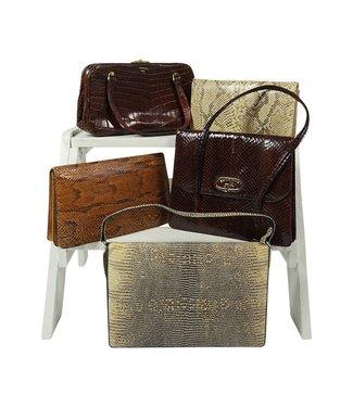 Vintage Bags: Reptile Bags