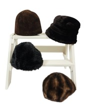 Vintage Hats: Faux Fur Hats