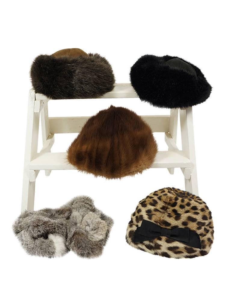 b4707054cc936 Vintage Hats: Fur Hats - ReRags Vintage Clothing Wholesale