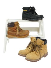 Vintage Shoes: Timberland Look