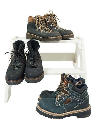 Chaussures Vintage: Bottes de Montagne