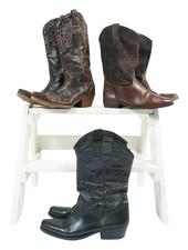 Vintage Shoes: Cowboy Boots