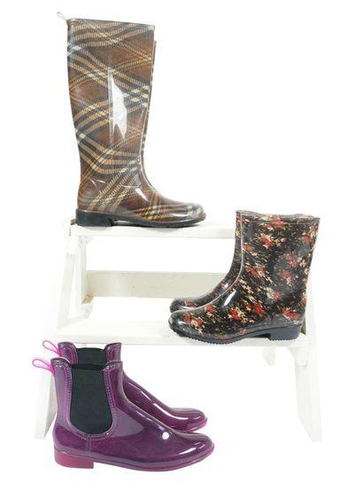 Chaussures Vintage: Bottes de Pluie