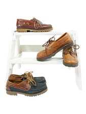 Chaussures Vintage: Chaussures Bateau