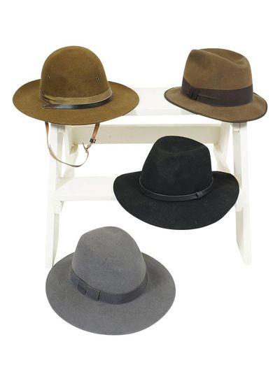 Chapeaux Vintage: Chapeaux Fedora Hommes - Deuxième Qualité