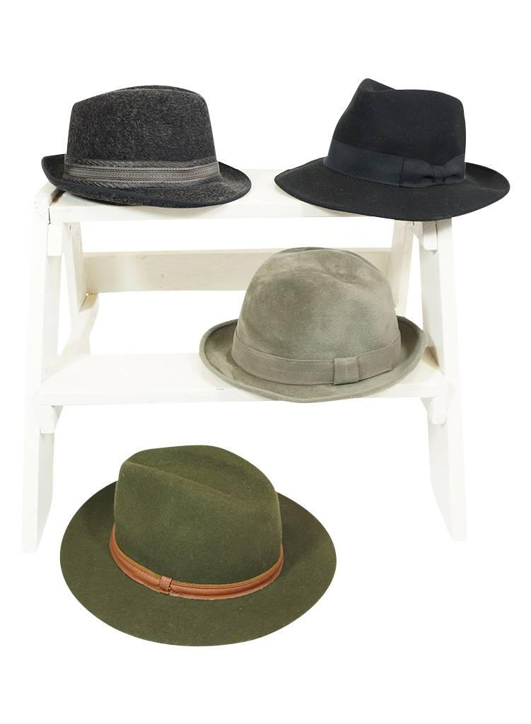 4c2d0c44ef8 Vintage Hats  Fedora Hats Men - 2nd Choice - ReRags Vintage Clothing  Wholesale