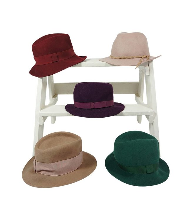 Vintage Hats: Fedora Hats Ladies - 2nd Choice