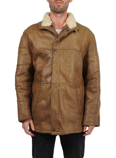 Vintage Coats: 90's Sheepskin Coats Men
