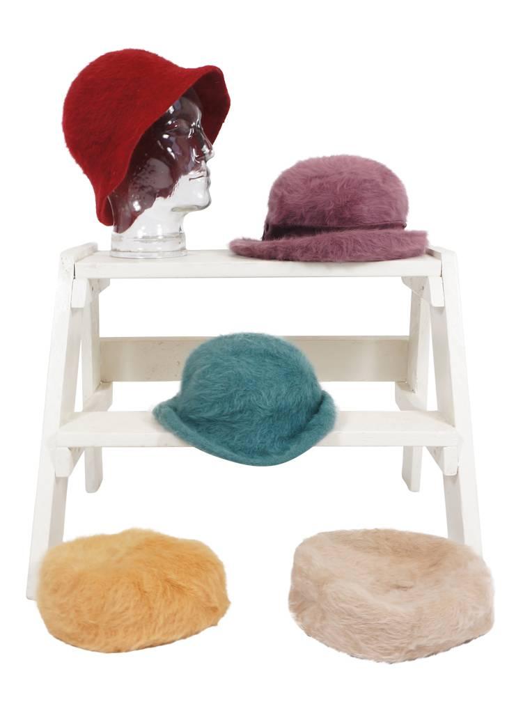 ae0f8f99bf4d6 Chapeaux Vintage: Chapeaux Angora - ReRags Vintage Clothing Wholesale