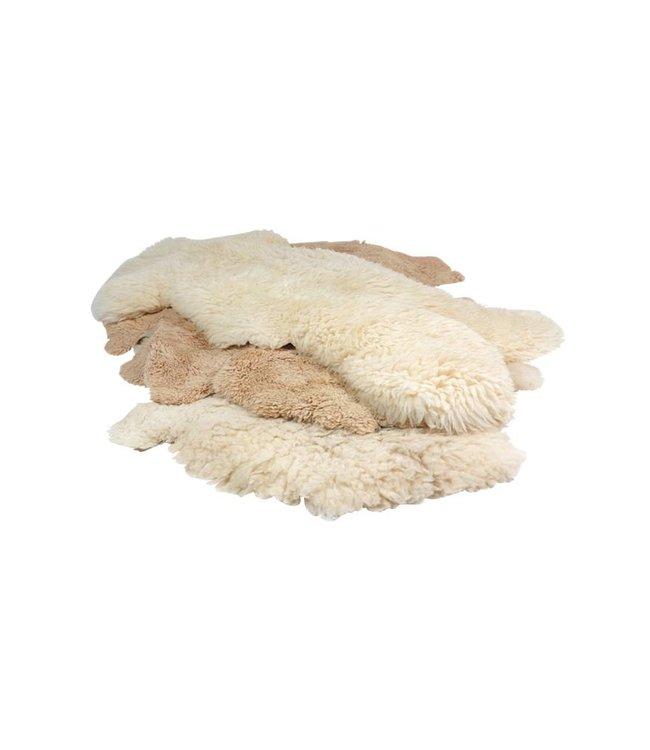 Accessoires Vintage: Tapis de Peaux de Moutons