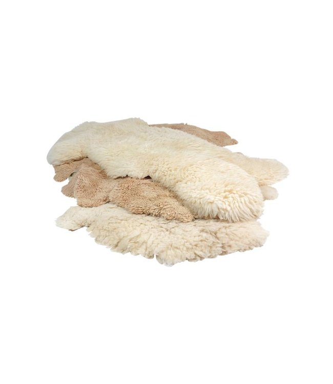Vintage Accessories: Sheepskin Rugs