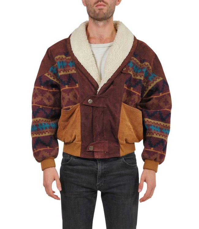 Manteaux Vintage: Manteaux Navajo / Aztec pour Hommes
