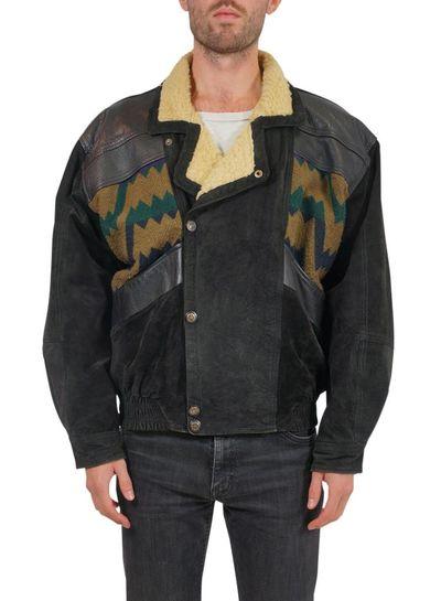 Vintage Coats: Navajo / Aztec Men Coat