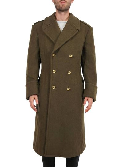 Vintage Coats: 70's Men Wool Coats