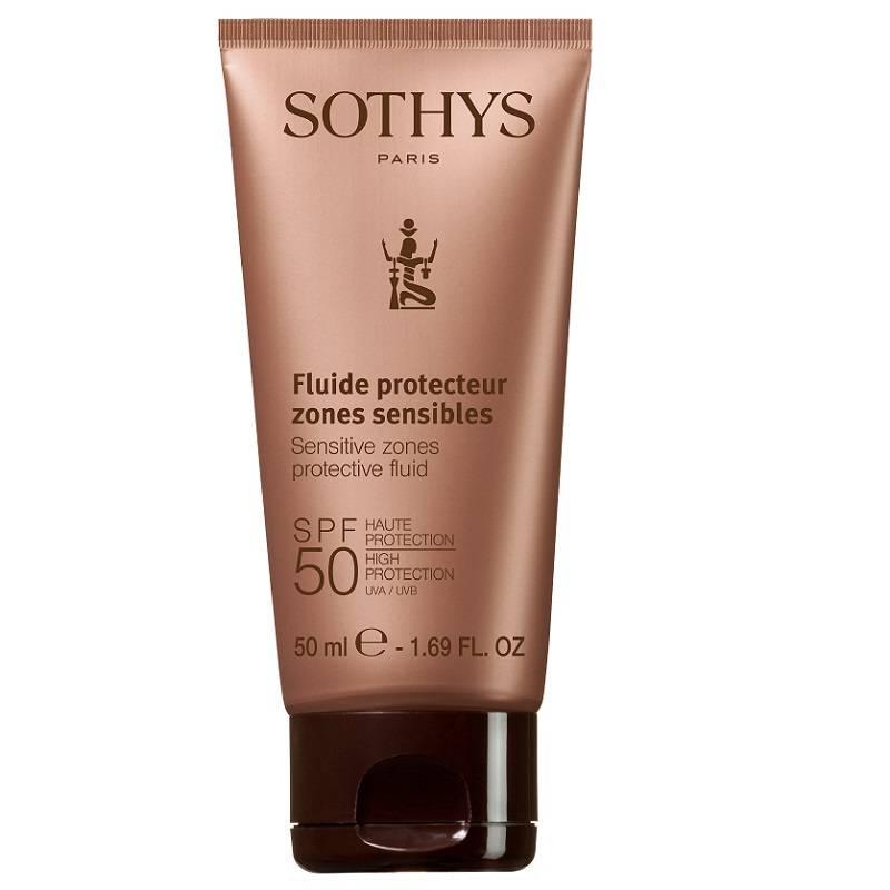 Sothys online webshop Sothys Fluide Protecteur zones sensibles SPF 50  voor de gevoelige zones factor 50