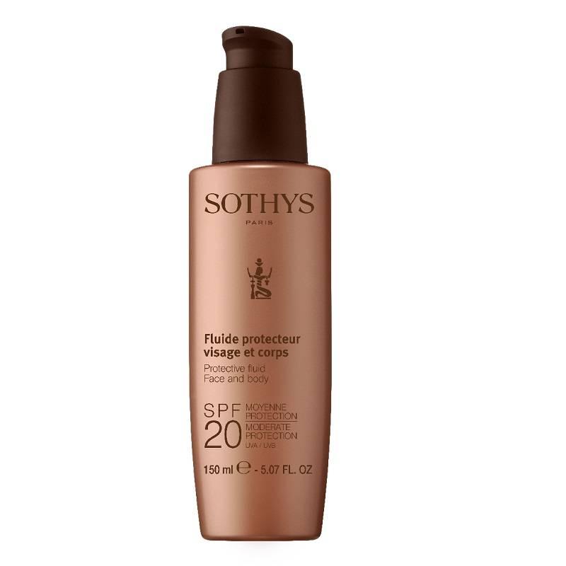 Sothys online webshop Sothys Fluide Protecteur Visage et Corps SPF20 voor gezicht en lichaam factor 20