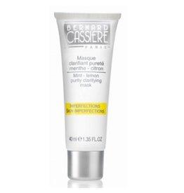 Bernard Cassière Bernard Cassiere  Masque Clarifant Pureté  Ligne Peaux Grasses Menthe-Citron skin imperfection. Mint-Lemon purity clarifying mask, skin imperfections