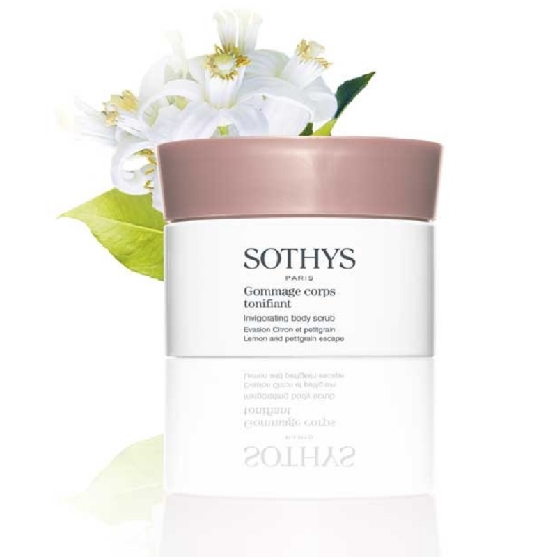 Sothys Sothys Gommage corps tonifiant, invigorating body scrub Lemon and petigrain escape