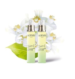 Sothys Sothys Eau parfumée Scented water , Evasion Citron et petigrain, Lemon and petigrain escape 2x 15 ml