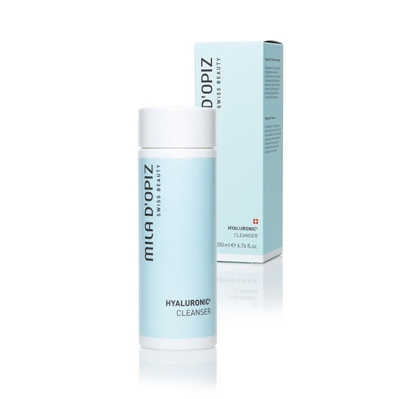 Mila d'Opiz MIla D'Opiz Hyaluronic4 Cleanser, cleansing gel is soft and gentle on the skin