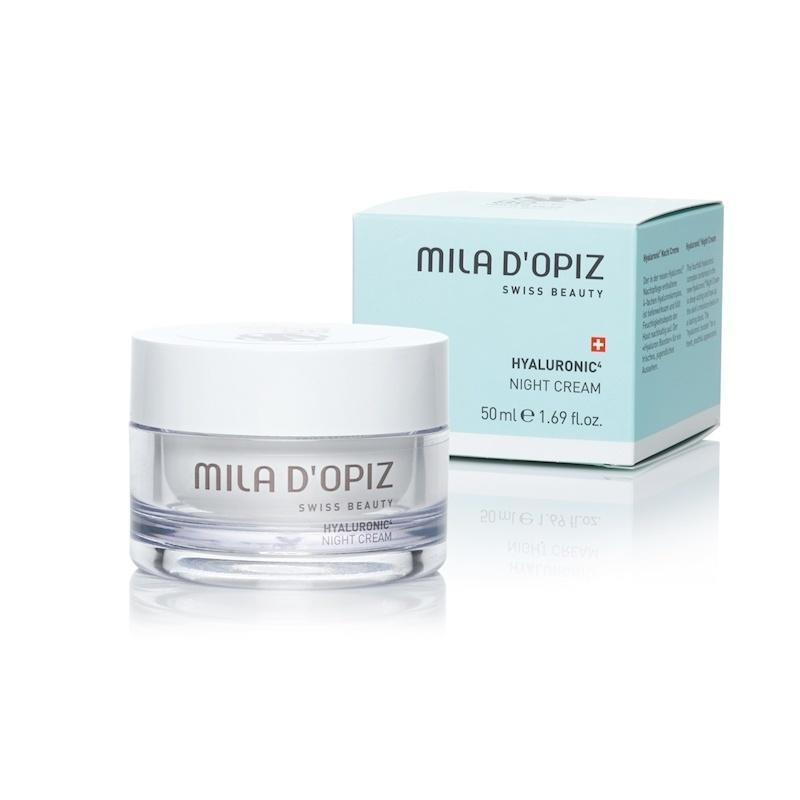 Mila d'Opiz Mila D'Opiz Hyaluronic4 night cream Swiss beauty