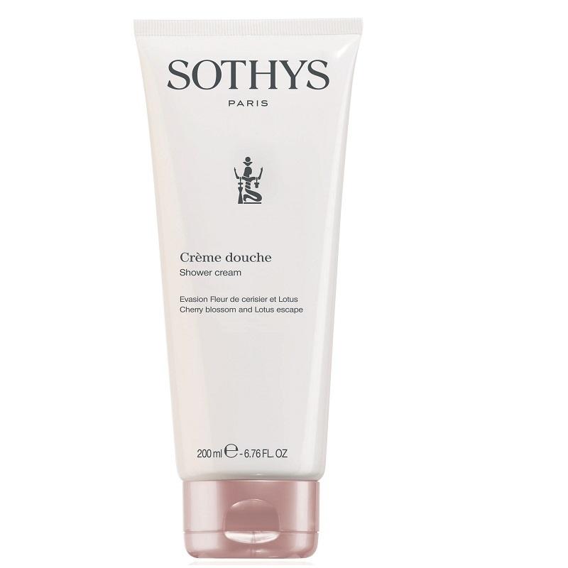 Sothys Sothys Crème Douche Evasion Fleur Cerisier et Lotus, Showercream Cherry blossom and Lotus escape