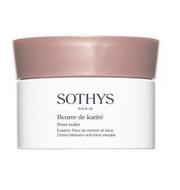 Sothys Sothys Beurre de Karité Evasion Fleur de Cerisier et Lotus, Shea Butter Cherry Blossom and Lotus Escape
