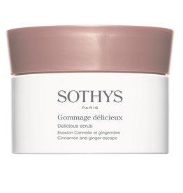 Sothys Sothys Gommage Délicieux Evasion Cannelle et Gingembre,  Délicious Scrub Cinnamon and Ginger Escape