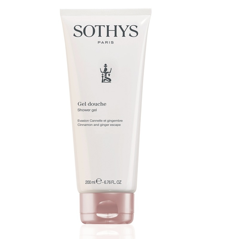 Sothys Sothys Shower Gel Cinnamon and Ginger Escape