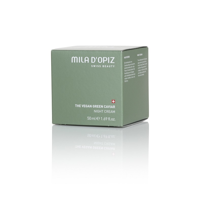 Mila d'Opiz Mila d'Opiz swiss beauty The Vegan green caviar night cream