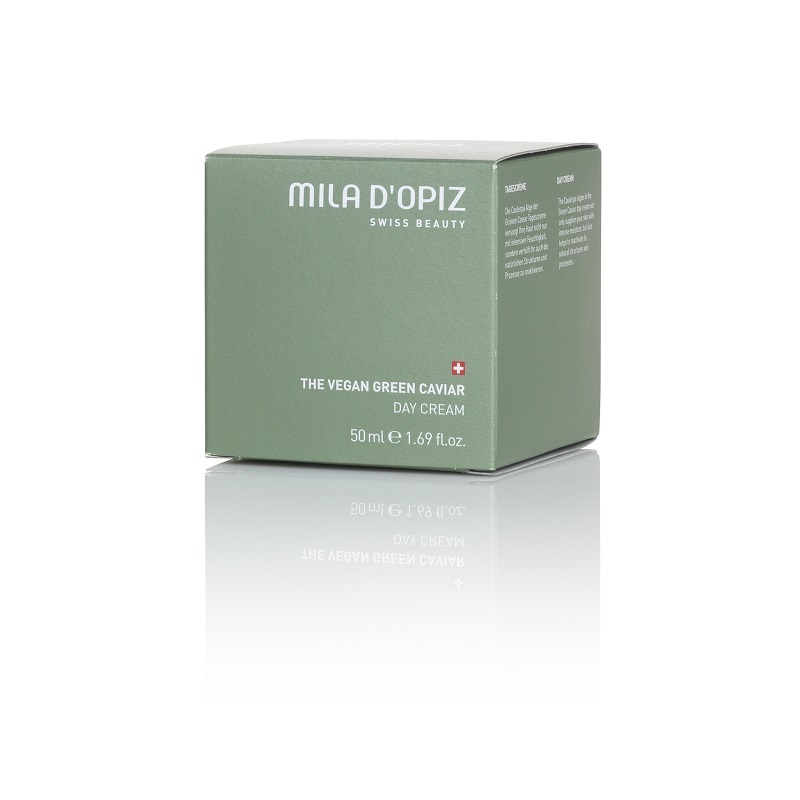 Mila d'Opiz Mila d'Opiz swiss beauty The Vegan green caviar day cream, dag crème