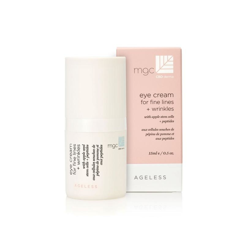 MGC Derma MGC Eye cream for fine lines + wrinkles 15 ml with apple stem cells + peptides-AGELESS