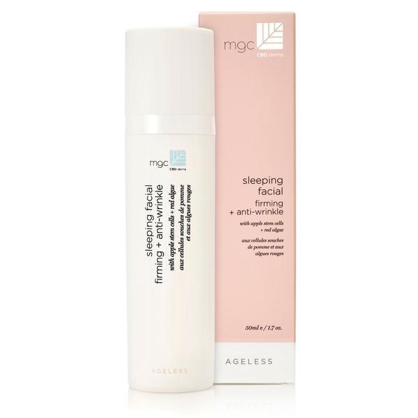 MGC Derma MGC CBD Derma- AGELESS- Sleeping- facial firming + anti-wrinkle. For all skintypes with apple stem cells + red algae
